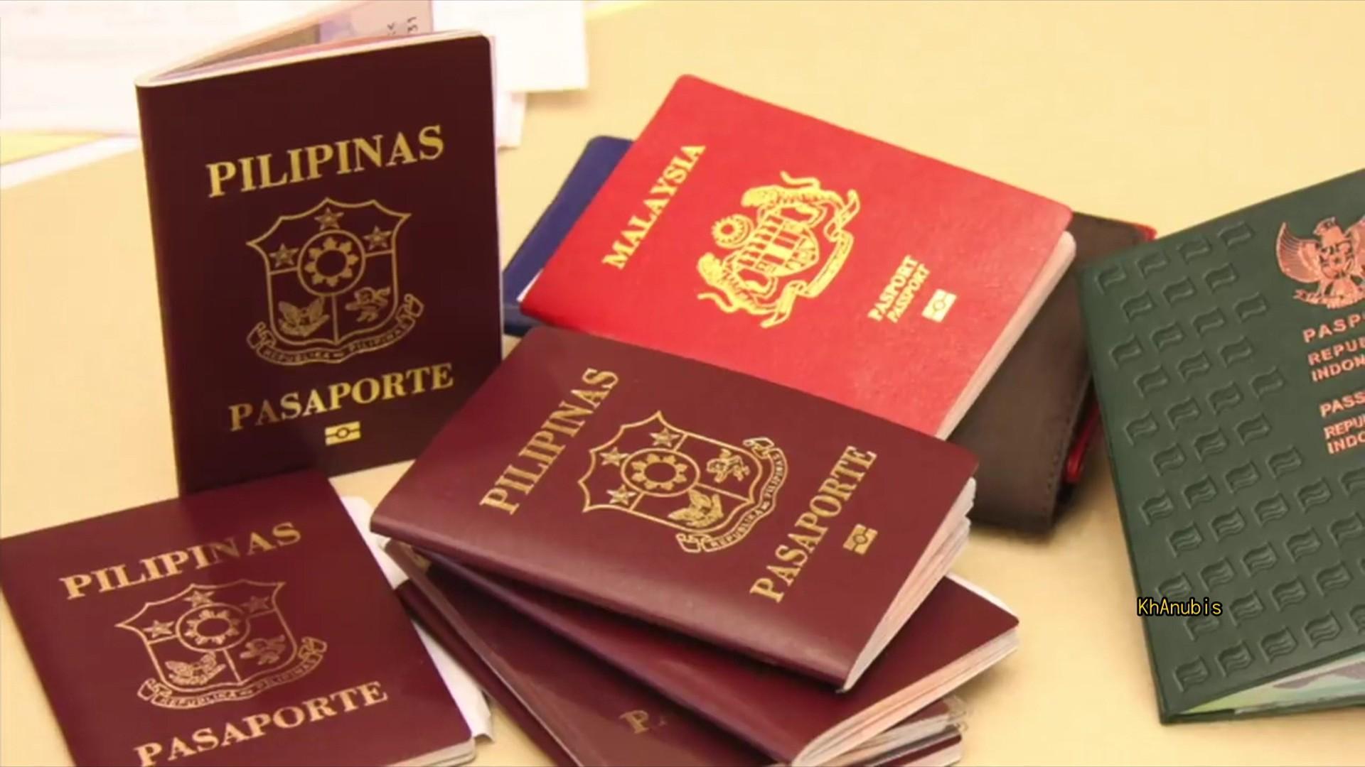 全球護照解密 僅紅藍綠黑四色
