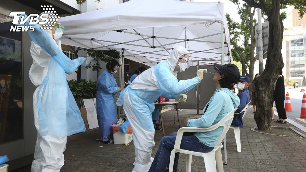圖/達志影像美聯社 韓國新增39例確診 物流中心群聚感染趨緩