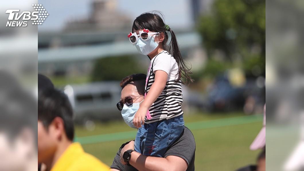 圖/中央社 未來一週炎熱高溫飆36度 下波鋒面最快7日報到