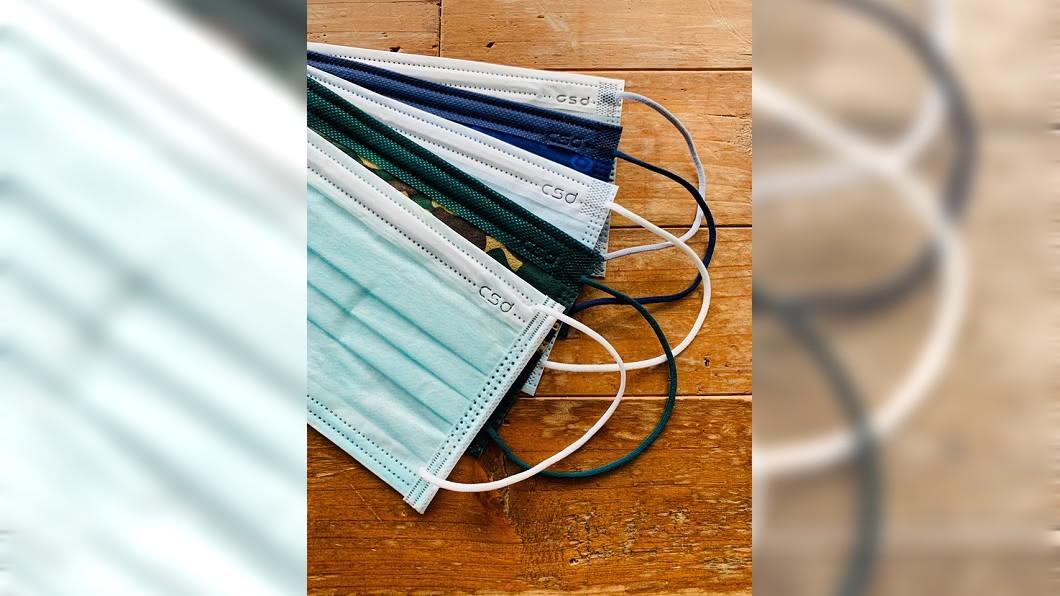 (圖/翻攝自CSD 中衛粉絲團) 買起來!中衛口罩單片售價6元 「超潮2色系」本週登場