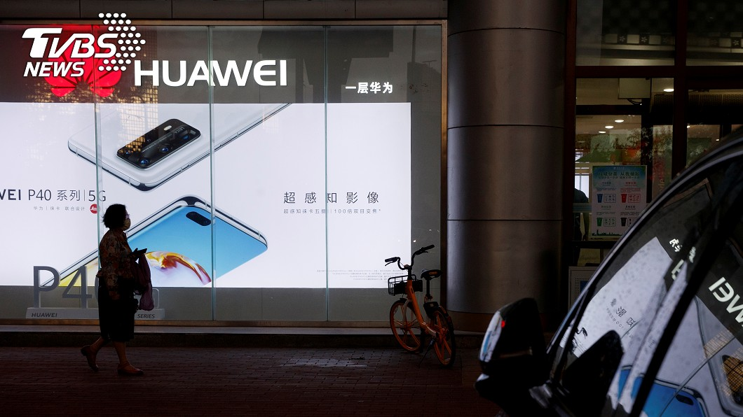 華為第1季銷量減少27.3%,下滑幅度是全球前5大廠中最大(圖/達志影像路透社) 全球智慧手機銷量減少20.2% 華為降幅最大