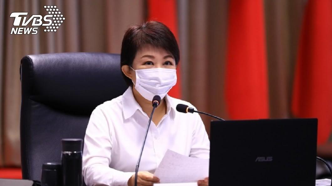 台中市長盧秀燕。(圖/中央社) 2024「侯盧配」有譜? 盧秀燕:上班不答選舉議題