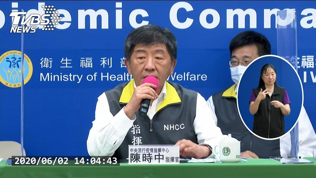 陳時中今天說,台灣已連續51天沒有本土2019冠狀病毒疾病個案,社區很安全,但國外疫情以每天增10萬速度上升,民眾還是要注意個人防疫。(圖/TVBS) 國際每天增10萬病例  陳時中:個人防疫不能輕忽