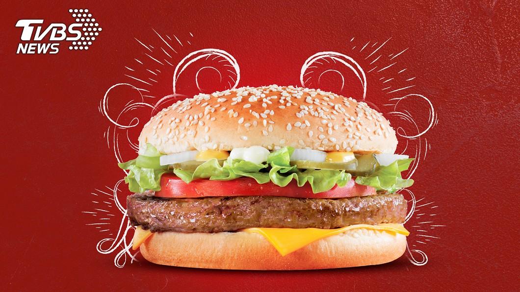 速食業者也推出振興優惠。(示意圖/TVBS) 速食振興!漢堡王推優惠券、麥當勞打5字此品項買1送1
