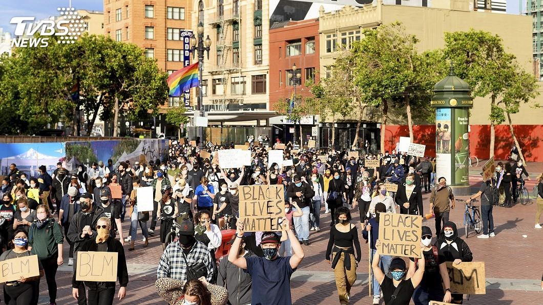 圖/達志影像美聯社 舊金山警民衝突舊案難彌平 非裔之死再掀眾怒
