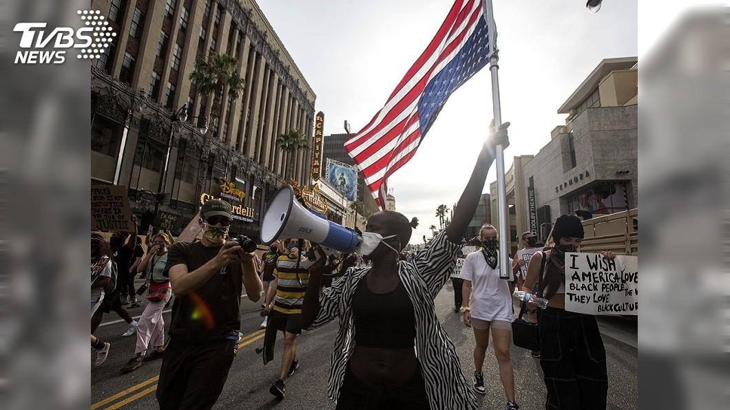 圖/達志影像美聯社 民調:6成美國人同情示威 5成5不認同川普處理