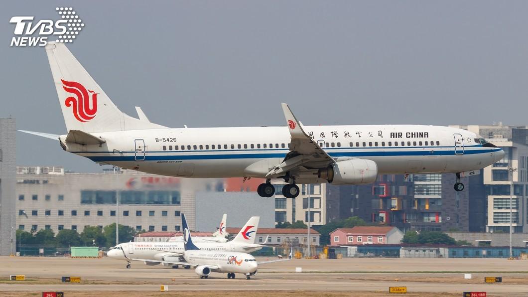 示意圖/TVBS 美國16日起禁中國客機出入境 雙方爭執再添一樁