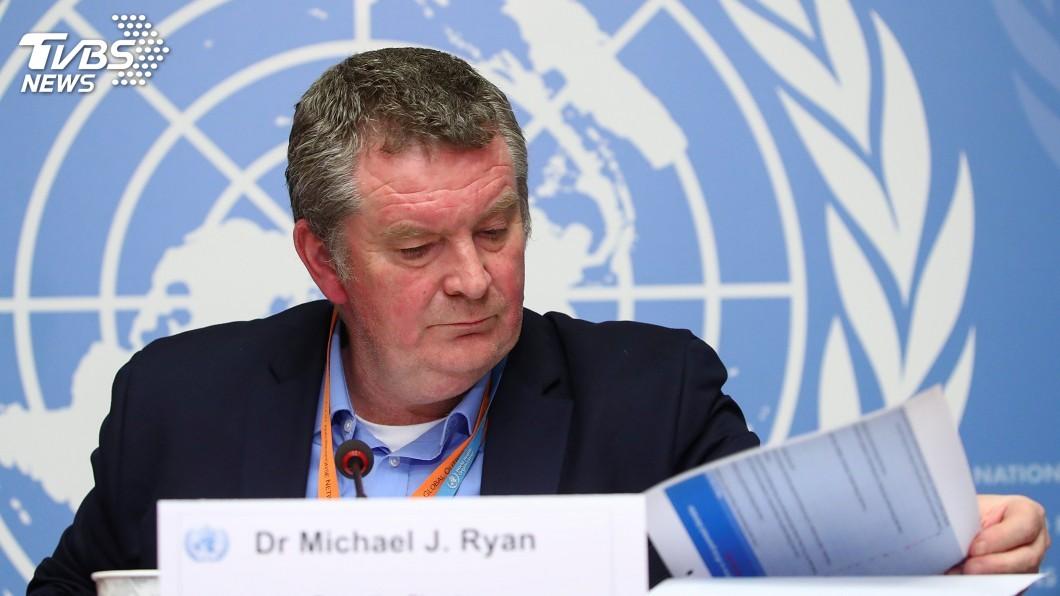 世衛公共衛生緊急計畫執行主任萊恩(Michael Ryan)今天拒絕回答媒體報導是否抱怨中國分享資料不足的問題。(圖/達志影像路透社)  美媒揭世衛抱怨中國分享資料不足 WHO官員拒答