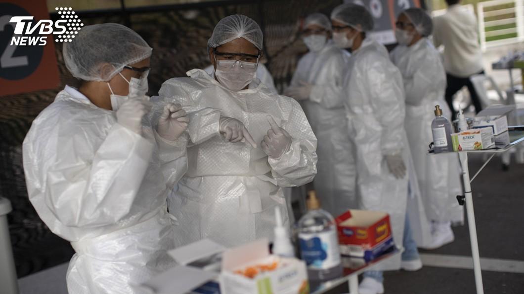 2019冠狀病毒疾病(COVID-19)重創全球,最新數據顯示,拉丁美洲已成為疫情核心。(圖/達志影像美聯社) 巴西病故人數連2天破紀錄 墨西哥單日死例首破千