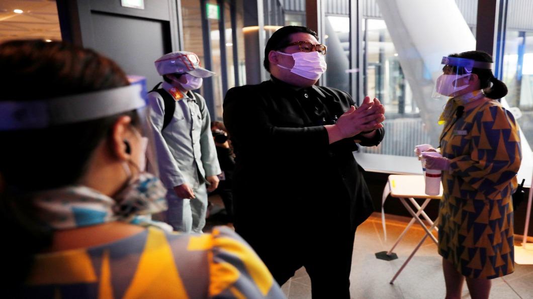圖/達志影像路透 歌舞伎町如「毒」窟 專家:如鬆懈.7月中再爆發