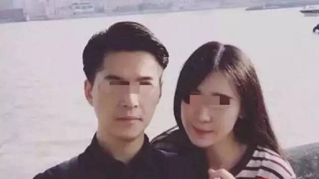 朱曉東和妻子才結婚不到一年就動了殺意。(圖/翻攝自微博) 掐死妻塞冰櫃!冷血夫犯後刷她卡開房爽玩