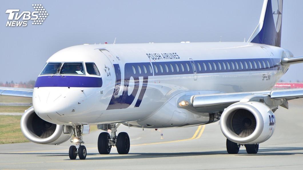 在波蘭航空的協助下,共有118名台灣人自華沙啟航。(示意圖/TVBS) 滯波蘭118人啟程返台 兩國史上首次載客直航