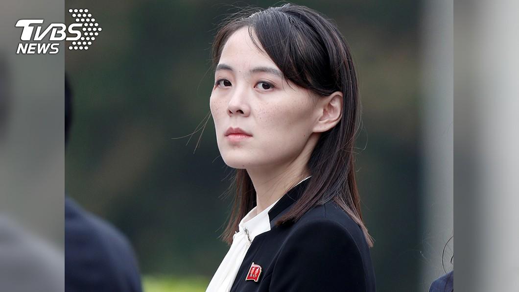 北韓領導人金正恩胞妹金與正。(圖/達志影像路透社) 兩韓關係降冰點 北韓揚言撤除聯絡辦公室