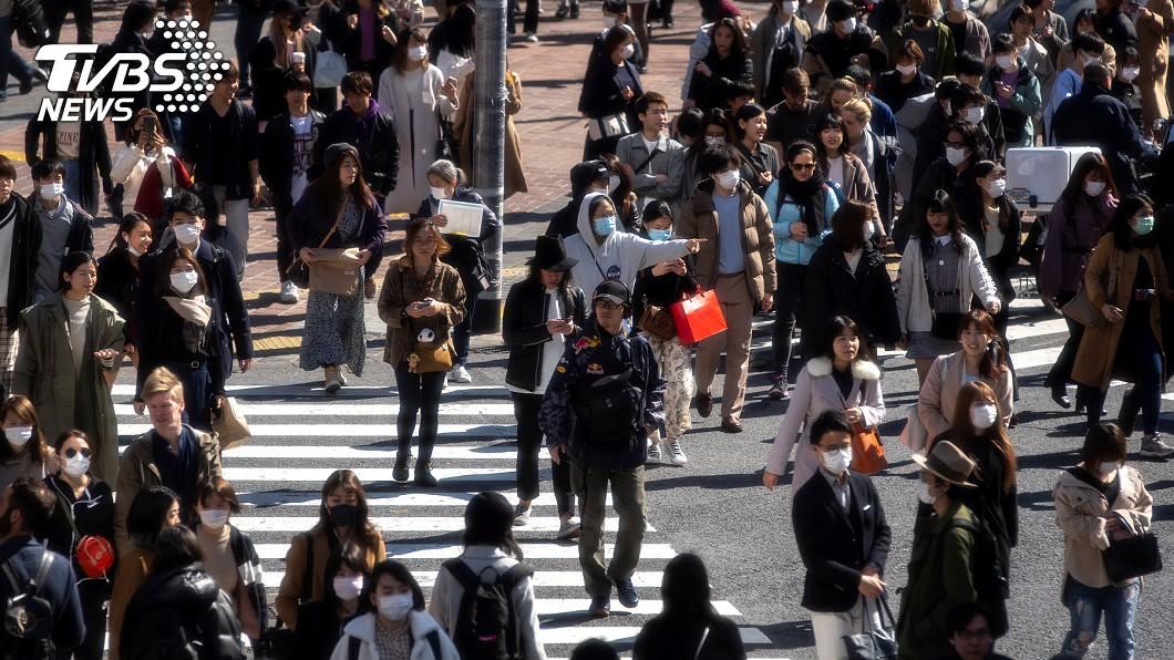 圖/路透社 「東京警報」無用! 東京五大站週末人回流