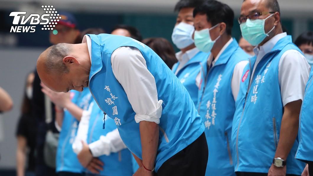 韓國瑜遭到罷免,未來動向備受關注。(圖/中央社) 韓國瑜仍最具戰力! 藍委:選黨主席或北市長都可以
