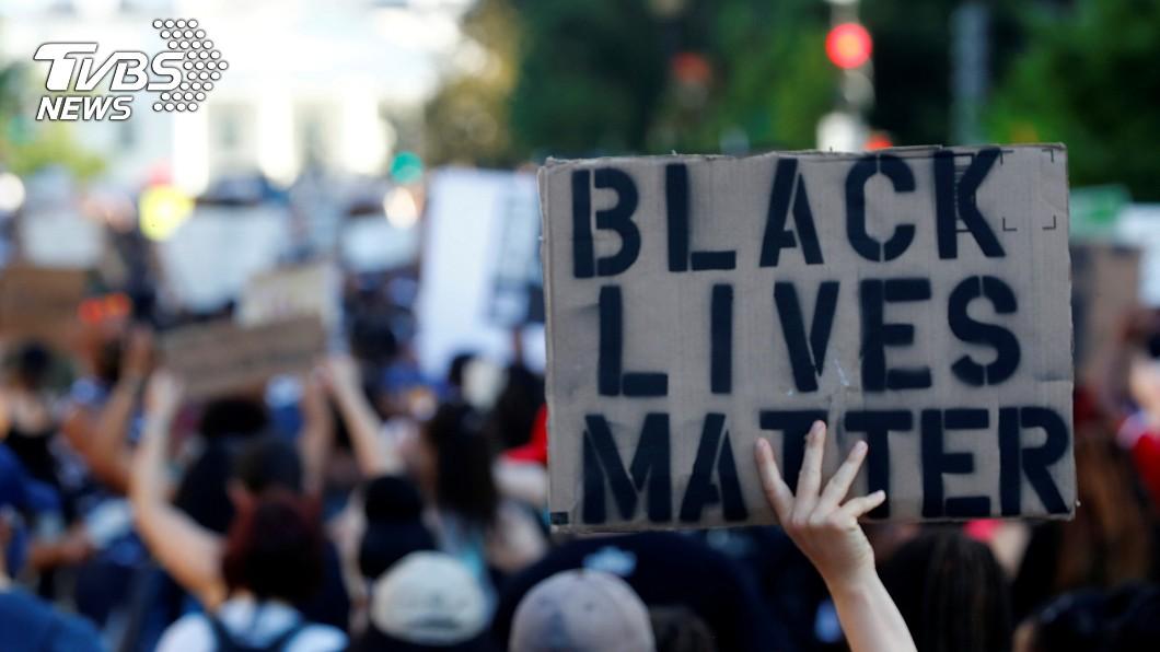 圖/達志影像路透社 「黑人的命也是命」佛洛伊德之死發酵 全球齊反種族歧視