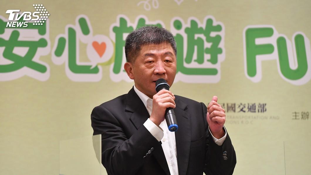 衛福部長陳時中。(圖/中央社) 安心旅遊補助7月上路 陳時中鼓勵民眾響應