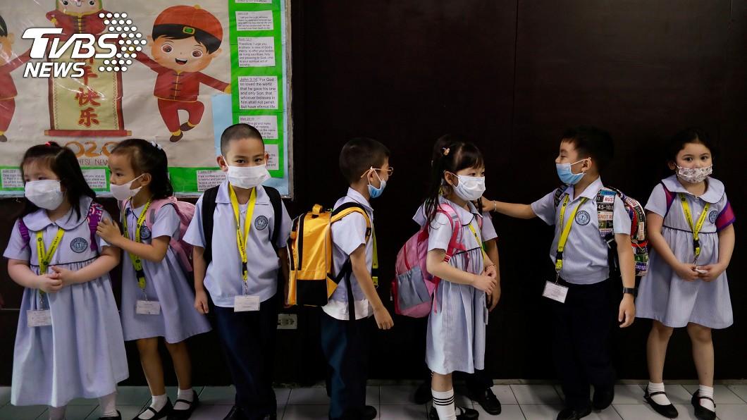 菲律賓不准學童回學校上課,可能得採電視授課方式。(圖/達志影像路透社) 疫苗問世之前 菲律賓不准學童回學校上課