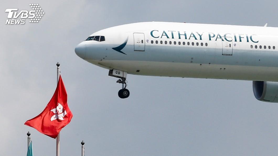 國泰航空今早開盤前宣布暫時停牌,內部是否改組引發各界關注。(圖/達志影像路透社) 國泰航空將重組?開盤前宣布停牌 2大股東同時跟進