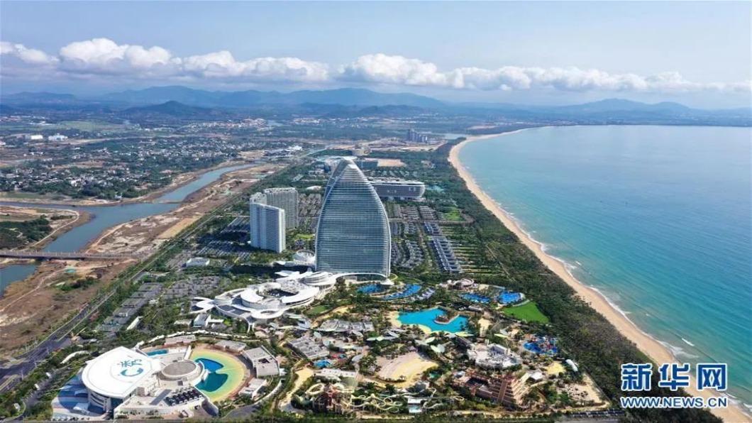 圖/翻攝自 新華網 海南設自貿港 2025年後力爭全島零關稅