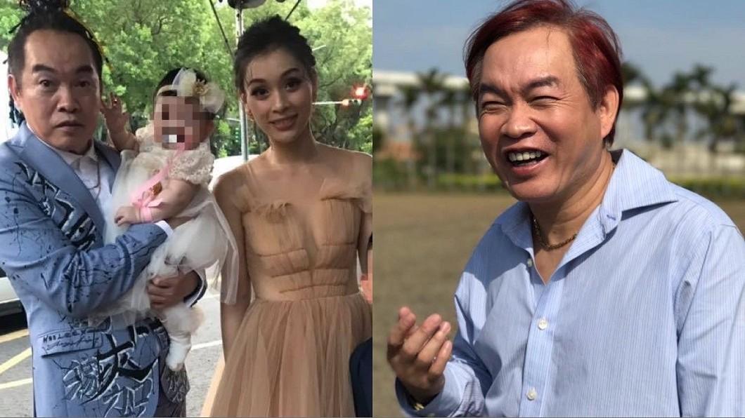 康康和妻子相差18歲。(圖/翻攝自康康臉書) 不是「有錢了不起」!康康提親1招娶走小18歲嫩妻