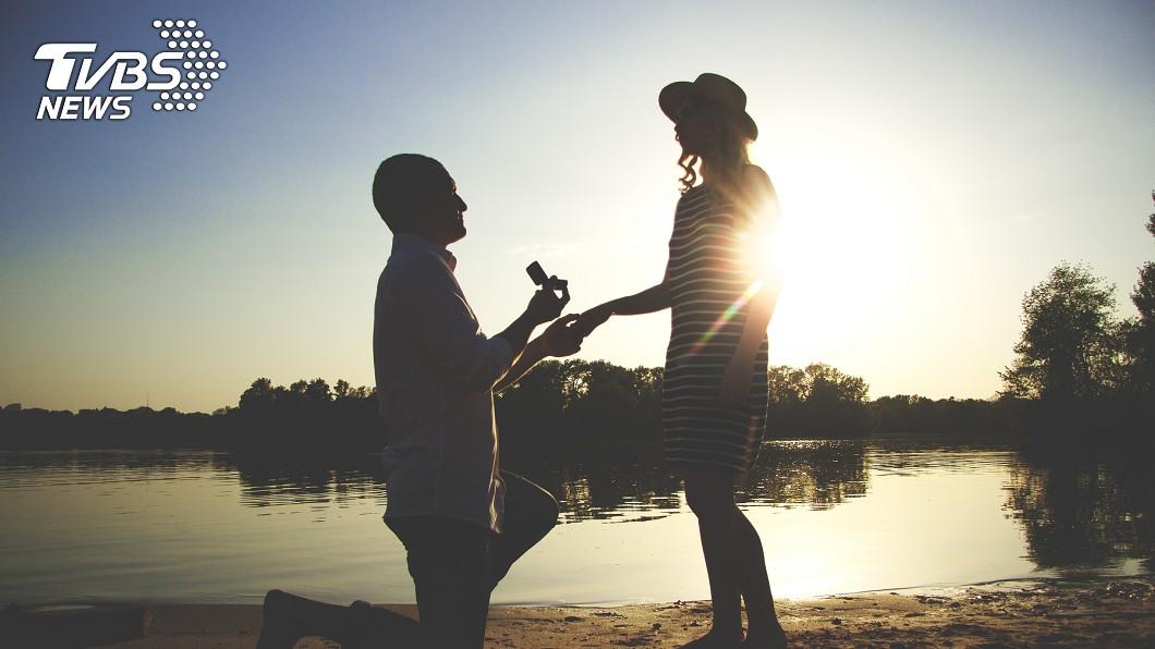 男子開口向母親求婚。(示意圖/TVBS) 被母親催婚 竟開口「嫁給我吧」兒子秒變老公