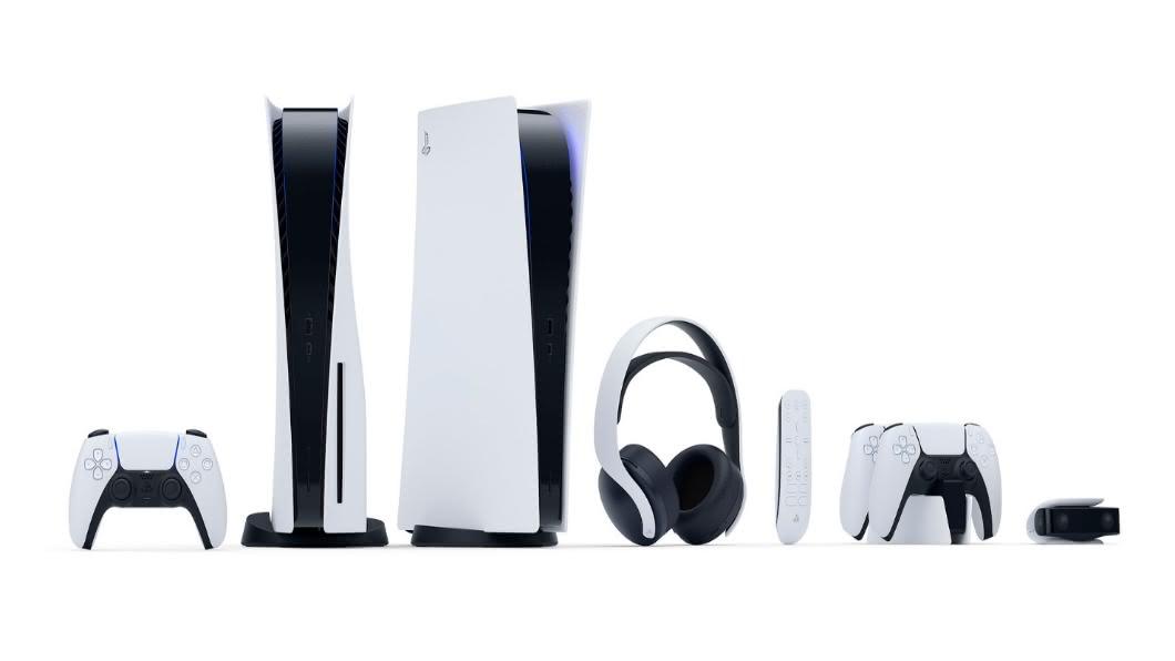 圖/翻攝自 Sony PlayStation blog PS5新主機正式發表 前衛雙色造型.年底發售