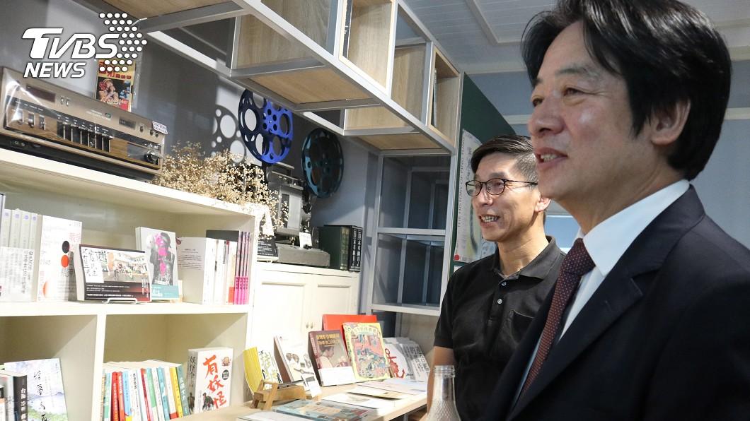 副總統賴清德。(圖/中央社) 賴清德走訪屏東獨立書店 盛讚潘孟安施政成果
