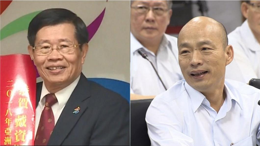 今日起由楊明州(左)擔任高雄高雄市長代理一職。(圖/TVBS資料畫面) 楊明州今宣誓就職高雄代理市長 韓國瑜不到場