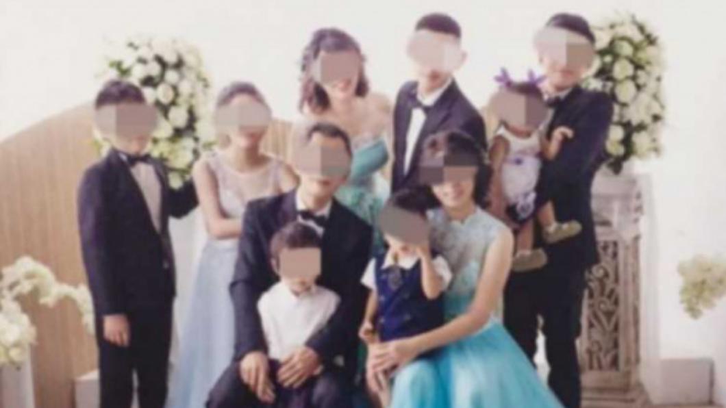 婦人22年連生9名子女。(圖/CT WANT授權使用) 22年狂生9子女 台中婦喜迎小9妹決定「封肚」