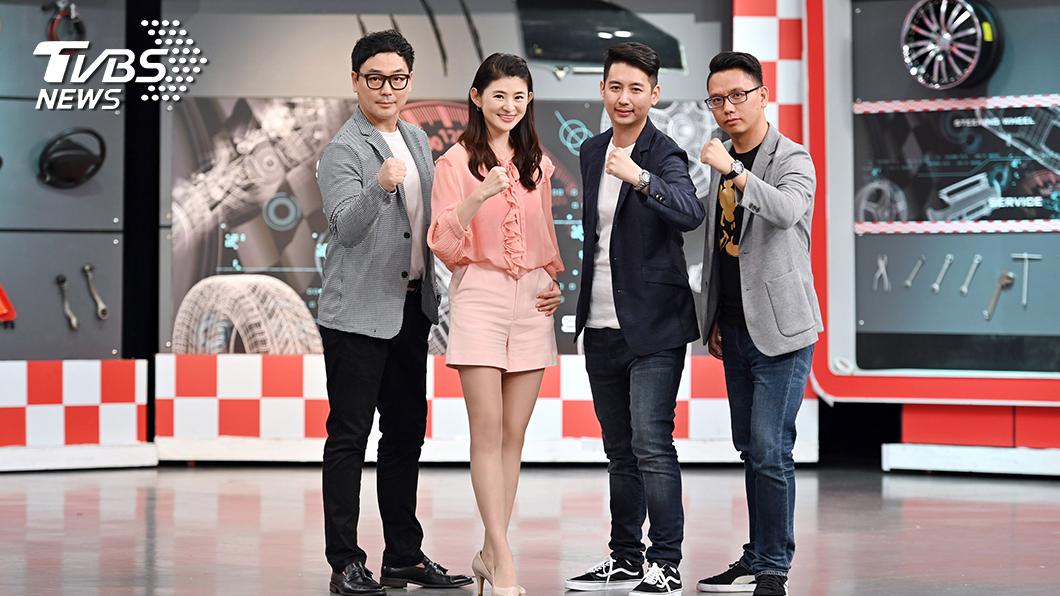 TVBS《地球黃金線》主持人蘇宗怡與「黃金線戰隊」(左起) 汪廷諤(Michael)、黃振源(阿源)、陳奕宏(小捲)。圖/TVBS 《地球黃金線》推出全新原創網路節目 獨家內容每周三上線