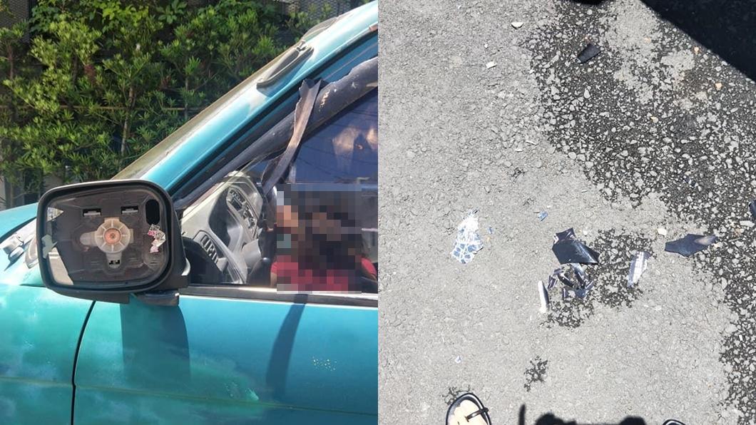 (圖/翻攝自臉書爆料公社) 停車遭民宿老闆狠砸「貨車賠錢而已」 女兒控訴:做工該讓你糟蹋?