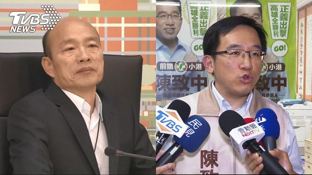 圖/TVBS資料照 陳致中該不該被罷免?陳水扁曝「韓國瑜曾給21字評價」