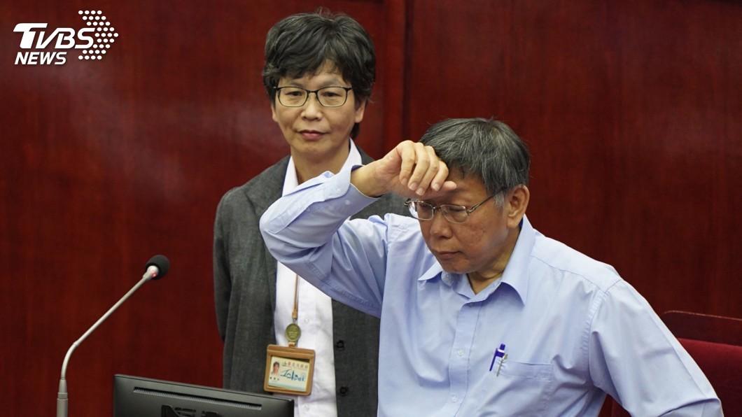 台北市長柯文哲與心腹民眾黨立委蔡壁如。(圖/中央社) 傳與柯文哲關係生變? 蔡壁如:這不會是問題