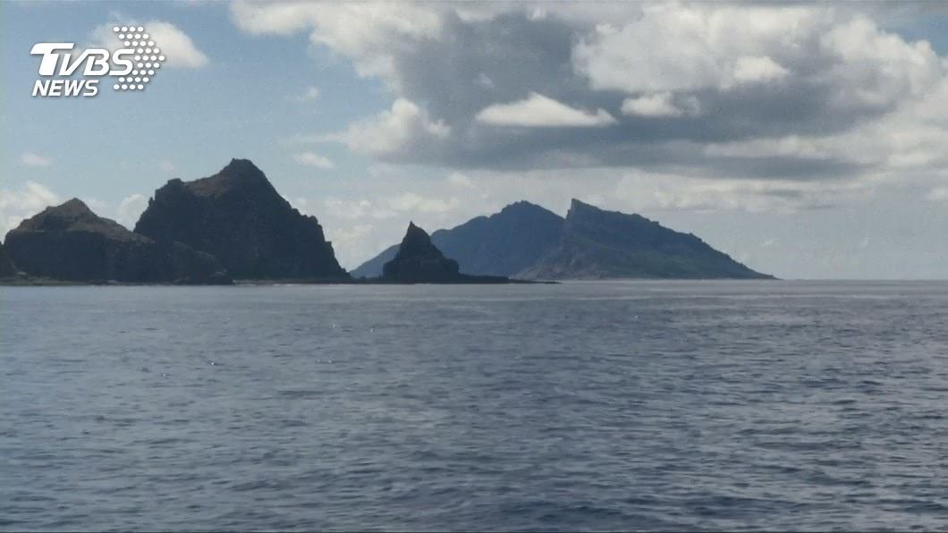 釣魚台主權爭議。(圖/TVBS) 釣魚台爭議再起 外交部:捍衛漁權就是捍衛主權