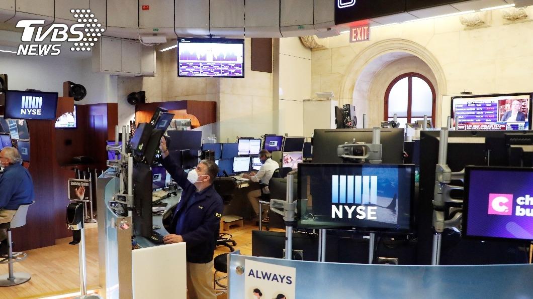 (圖/達志影像路透) 跡象顯示經濟正復甦 美股收高道瓊漲526.82點