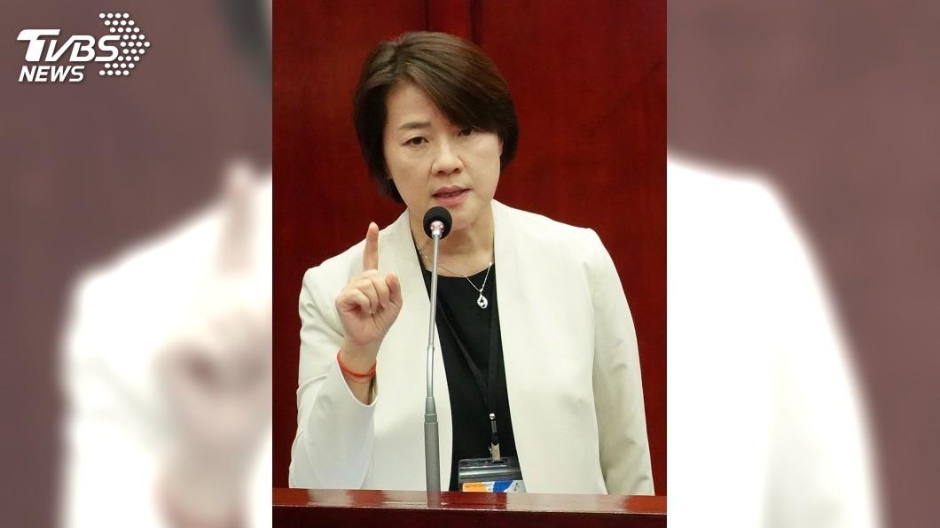 台北市副市長黃珊珊。(圖/中央社) 宣傳挪用二備金 黃珊珊:馬郝宣傳預算才是天文數字