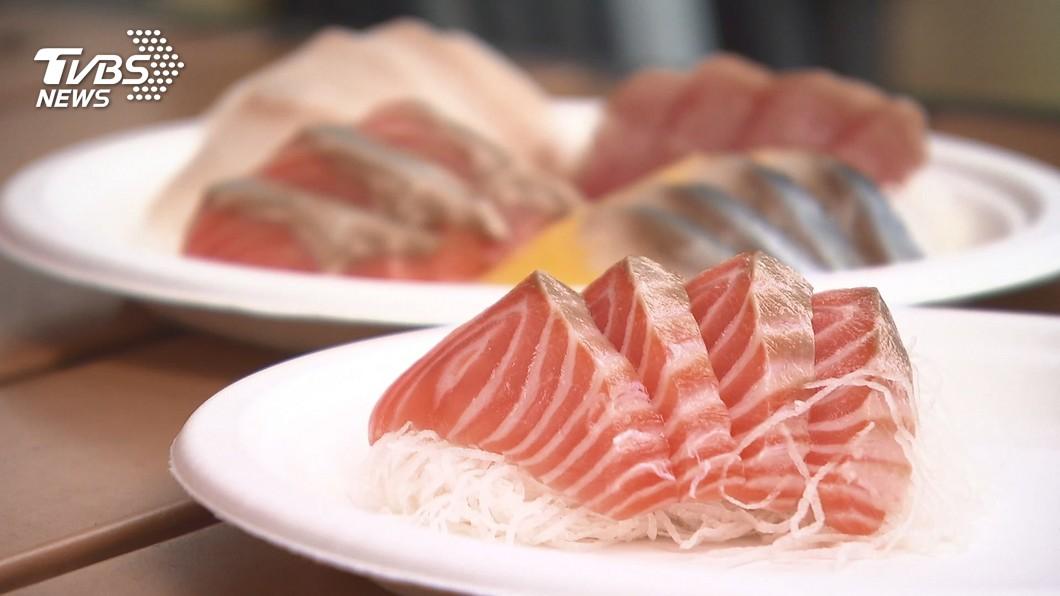 挪威要求中國進口鮭魚恢復正常。(圖/TVBS) 北京疫情源頭無關鮭魚 挪威要中國重開進口