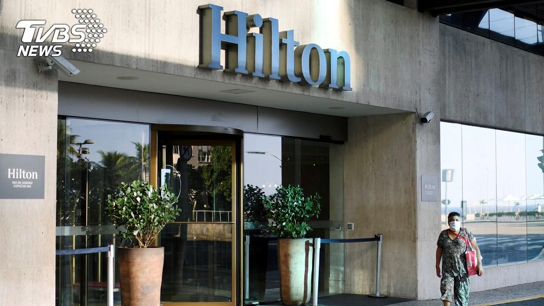希爾頓酒店宣布裁減2100名員工。(圖/達志影像路透社) 希爾頓酒店大砍2100人 員工休假再延長90天