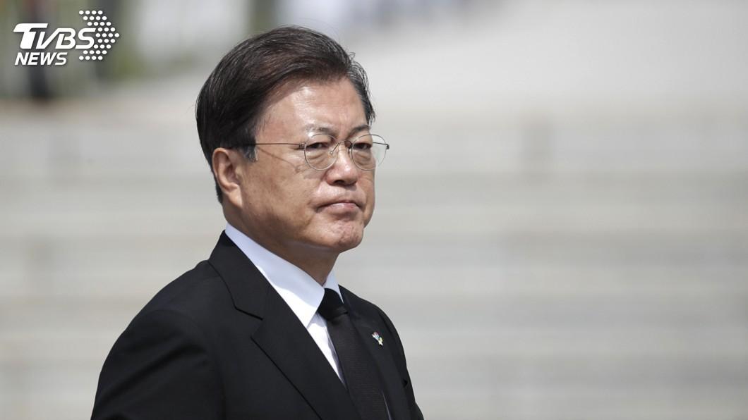 南韓總統文在寅。(圖/達志影像美聯社) 兩韓關係惡化 文在寅是否撤換安保官員受矚目