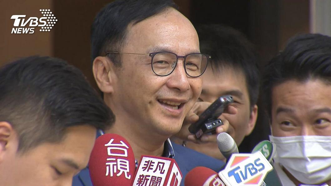 前國民黨主席朱立倫。(圖/TVBS) 疑淡化九二共識 朱立倫:黨堅持民主兩岸和平