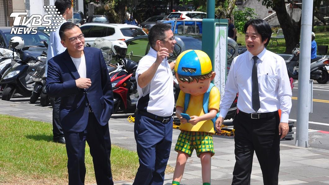 副總統賴清德到訪宜蘭推安心旅遊。(圖/中央社) 賴清德幫推安心旅遊 台灣故事促經濟