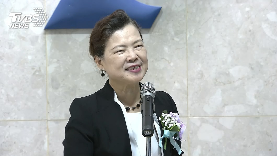 經濟部長王美花。(圖/TVBS) 台印展開FTA經貿談判? 經長:不清楚具體訊息