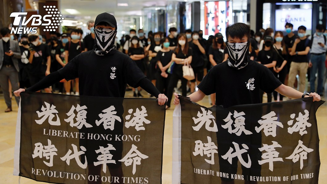 香港昨天發起罷工罷課公投,皆未達到實體同意票門檻。(示意圖/達志影像路透社) 香港反國安法罷工罷課公投 參與人數未達標