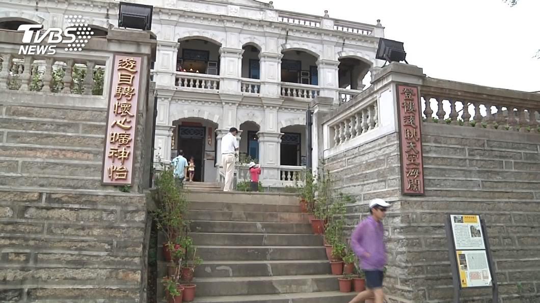 國旅盛行,到金門遊玩的遊客也不遑多讓。(圖/TVBS) 金門國旅夯 暑假5天旅遊人數補平陸客缺