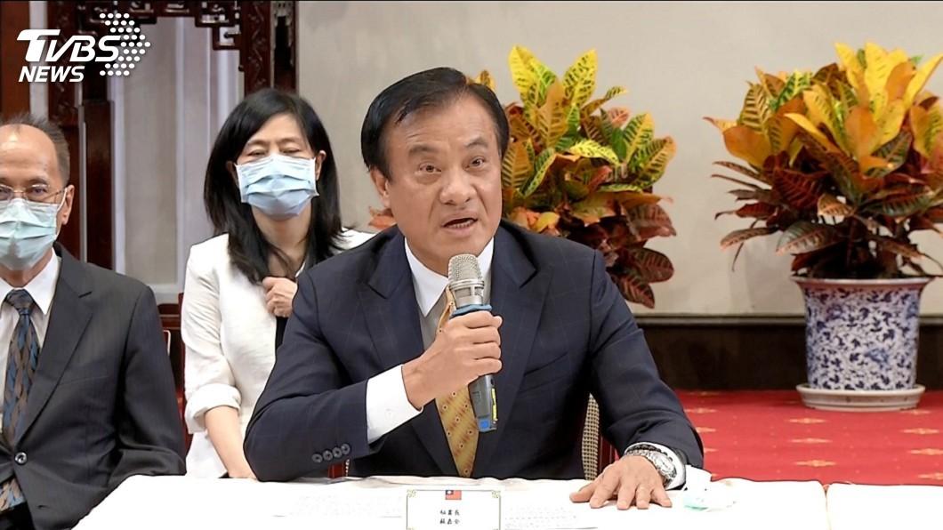 總統府秘書長蘇嘉全。(圖/TVBS) 2名遺缺暫時保留 蘇嘉全:監委提名總統負全責