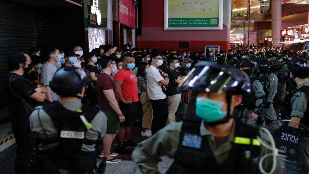 圖/達志影像路透 北京在港設國安公署.派顧問指導 一國兩制亡