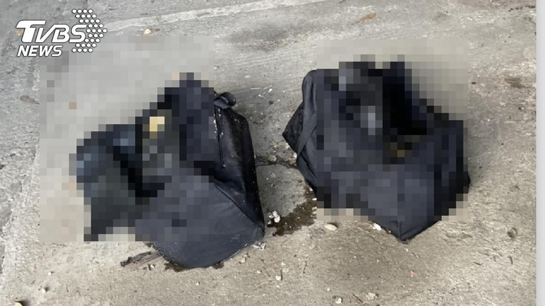 圖/TVBS 分屍命案?清潔員愛河撈到行李袋…打開驚見人體屍塊
