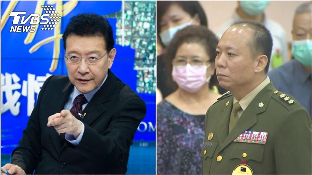 資深媒體人趙少康(左)、總統蔡英文警衛室主任陳敏華今晉升少將(右)。(圖/TVBS資料畫面) 他私菸案記大過今升少將 趙少康:別人死光光就你升將軍