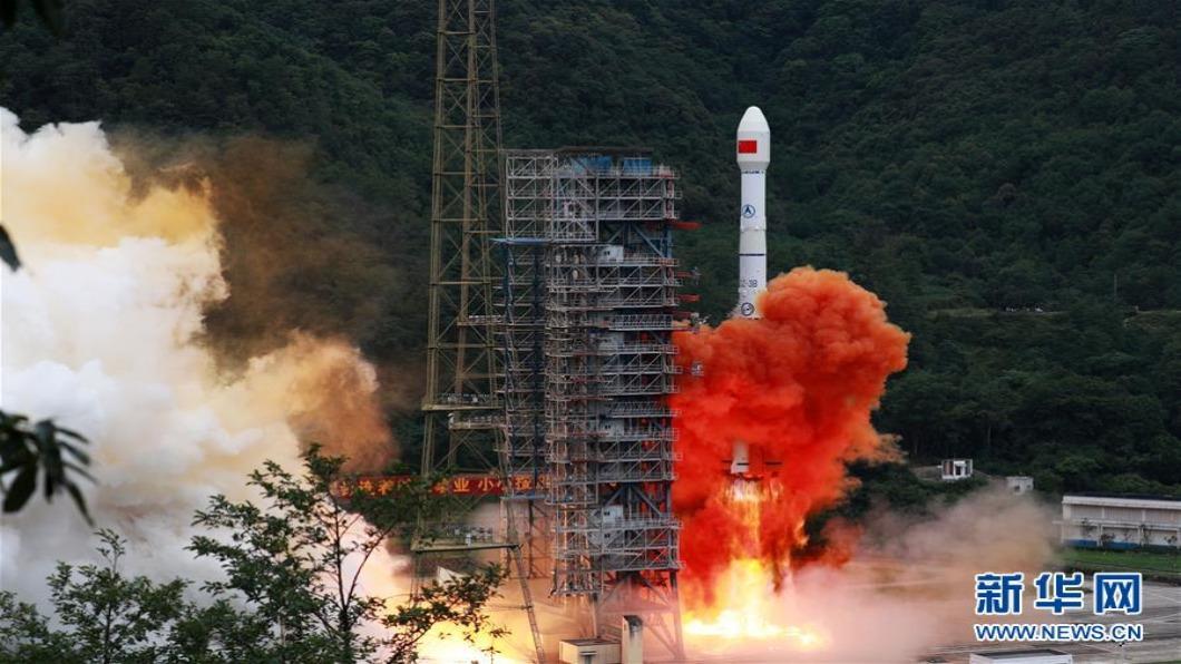 圖/翻攝自 新華網 北斗衛星全球布陣 最後拼圖第55顆升空